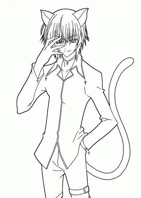 Coloring Pages Of Anime Characters Coloring Anime Anime Character Coloring Pages
