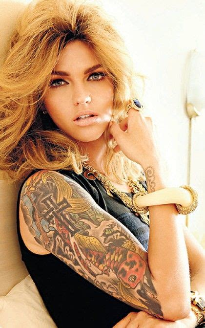 ruby rose hair pinterest ruby rose sleeve inked