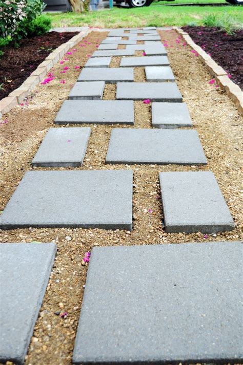 decomposed granite path with pavers garden pinterest