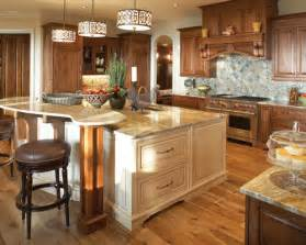 Painted Kitchen Islands Stained Cabinets Painted Island Houzz
