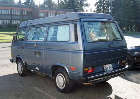 volkswagen vanagon 1987 1987 vw vanagon westfalia cer auction in tacoma wa