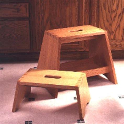 step stools woodworking plan woodworkersworkshop