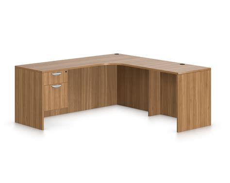 Offices To Go L Shaped Modern Office Desk With Filing Cabinet Corner Desk Extension
