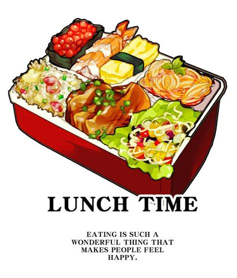 what time is lunch lunch time bento illustration food illustrations 2