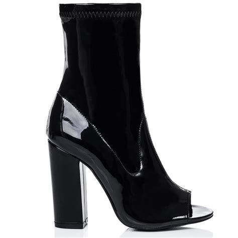 iggy black ankle boots shoes from spylovebuy