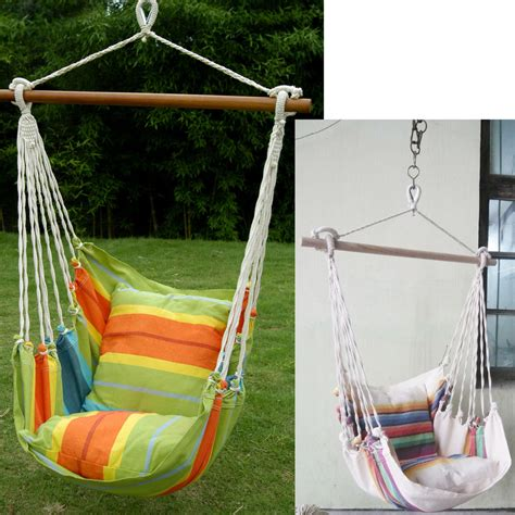 Patio Swing Replacement Canvas Hanging Seat Tree Hammock Swing Chair Cing Patio