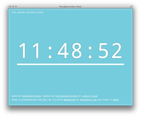 jquery color jquery color clock