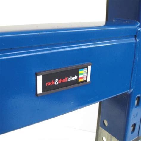 magnetic label holders 25mm x 80mm rack shelf labels