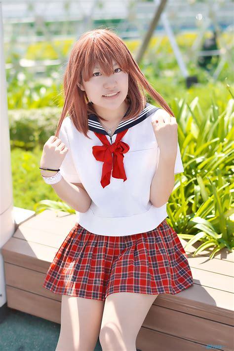 fetscom cosplay in pantyhose uniforms nylon cosplay hasshi pantyhose pleated skirt sailor uniform