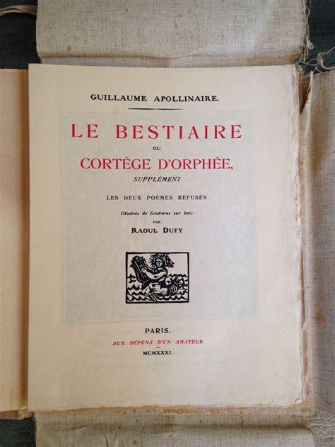 bestiaire damour et la le blog du bibliophile des bibliophiles de la bibliophilie et des livres anciens dans la