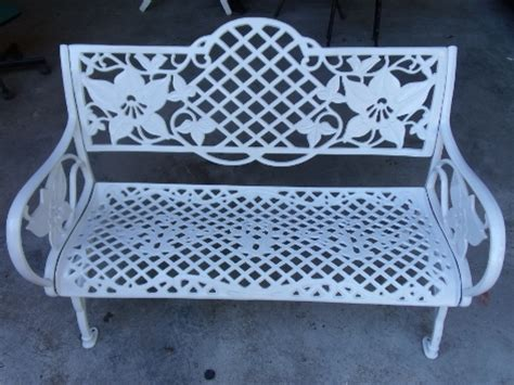 orchid bench cast aluminium orchid bench universal furniture singapore