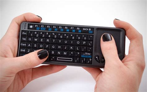 Keyboard Wireless Touchpad miniature wireless keyboard with touchpad mikeshouts