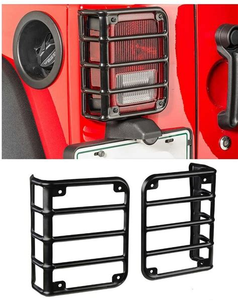 jeep tail light guard 142 best accessories for jeep wrangler images on pinterest