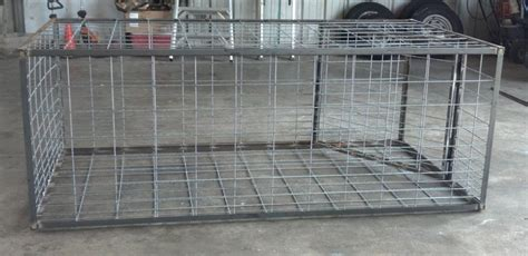 swing door hog trap plans swing door trap texas hog traps