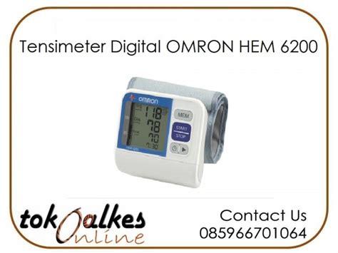 Tensimeter Omron Hem 7200 toko jual tensimeter digital omron pasar pramuka pusat