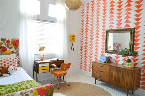 bücher tapete babyzimmer idee vintage