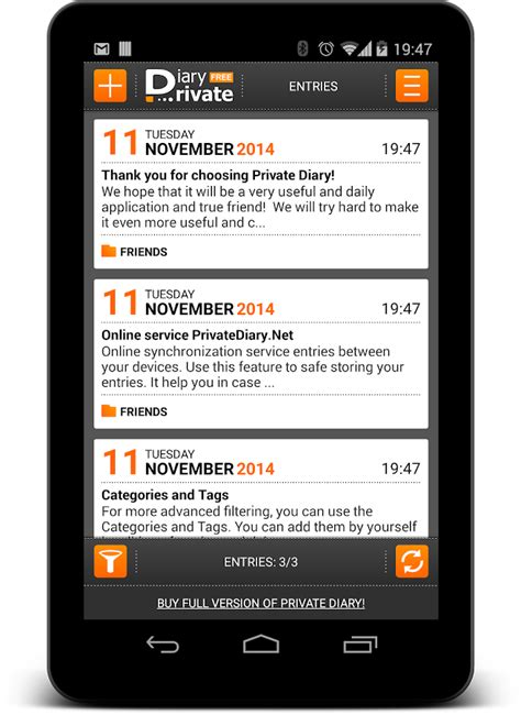 Diary App Diary Free Personal Journal Android Apps On