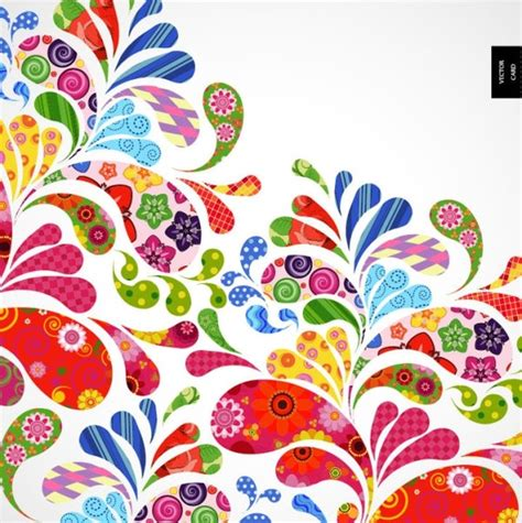 background vector pattern colorful colorful pattern background 02 vector free vector in