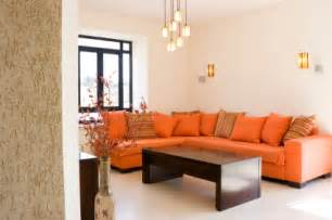 Orange Sofa Living Room Living Room Orange Ideas Simple Home Decoration
