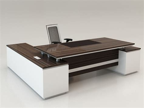 Modern Work Desk Executive Office Desks Modern Thediapercake Home Trend