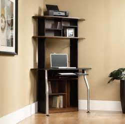 small desk bookshelf furniture modern small corner computer desk with hutch
