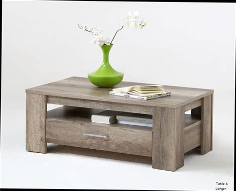 Table Basse Avec Tiroir by Table Basse Tiroir Table Basse Bois Gris Clair Trendsetter