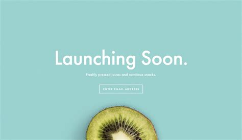 Launching Soon Template Free by Gather Emails Before Your Launch Using A Squarespace