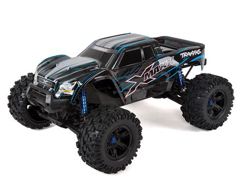 rc truck x maxx 8s 4wd brushless rtr truck blue by