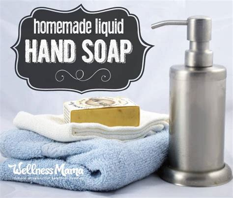 How Much Soap To Use In Shower by Liquid Soap Recipe Wellness