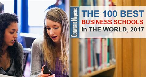 Top Mba Programs In The World by Best Business Schools In The World For 2017 Ceoworld