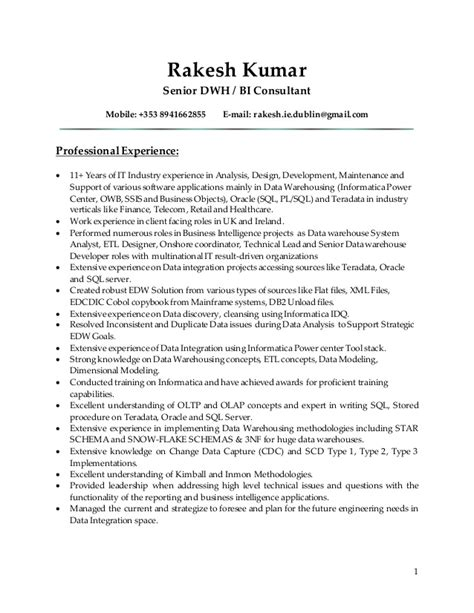 How Are Scannable Resumés Different From Other Kinds by Teradata Resume Resume Ideas