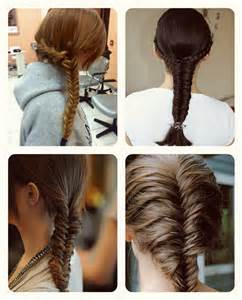 French Braid Hair Extensions by 5 Latest Best Braided Fishtail Hairstyles To Inspire You