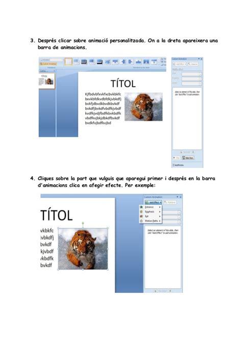 tutorial powerpoint doc tutorial animacions de document powerpoint