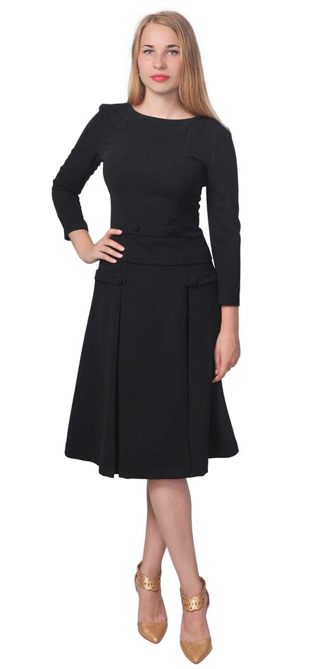 hairstyle that will suit a midi womens classic classy business church work vintage aline