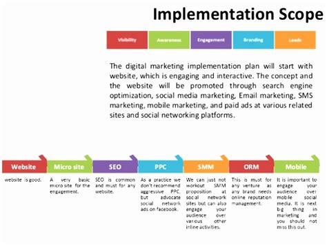 10 Website Implementation Plan Template Xapum Templatesz234 Digital Marketing Project Plan Template
