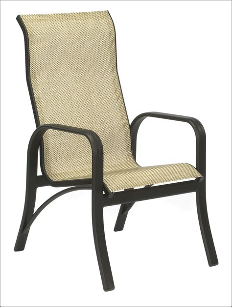 Patio Sling Furniture by Patio Sling Chairs Home Depot Patios Home Decorating