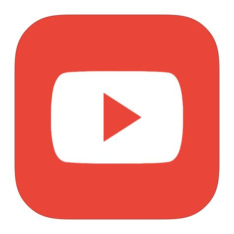 download youtube icon metroui youtube alt icon free download as png and ico