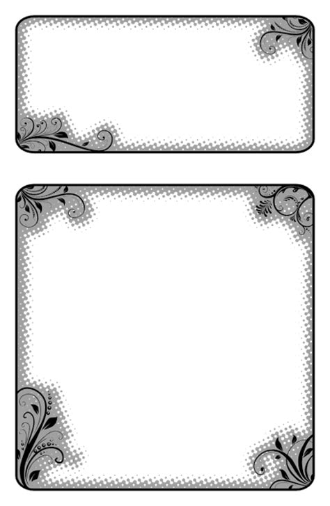 template ornamen undangan bingkai undangan f4 sedot gambar svg gratis