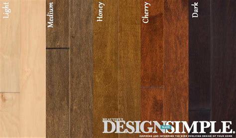 hardwood floor colors to fit any space best wood floor