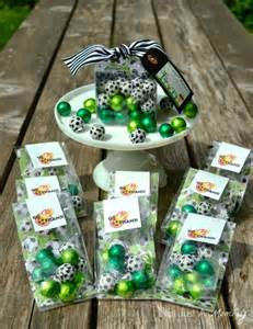 Soccer Favor Ideas not just a tuesday tip soccer favors with sweetworks