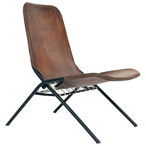 leather folding chair olof pira leather folding chair for sale at 1stdibs