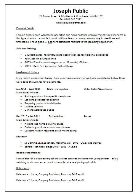 2 blank cv template uk manager resume