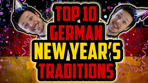 top 10 german new year s traditions bloopers youtube