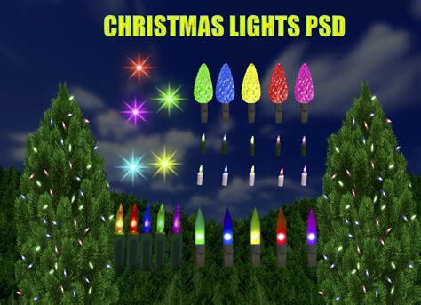 christmas lights psd by dbszabo1 on deviantart