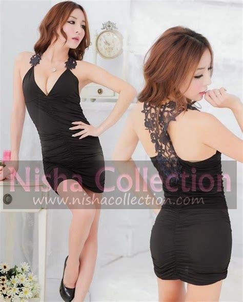 Dress Scuba Cantik nisha collection baju pakaian dress