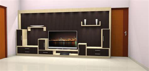 Interior Design Kitchen Room nithin s works lcd unit with storage