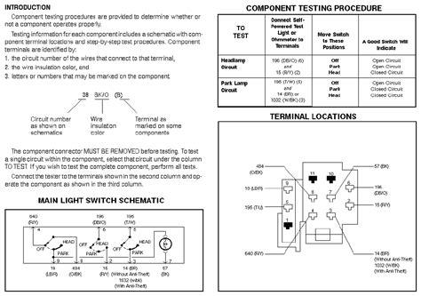 88 ford ranger headlight wiring diagram 88 get free