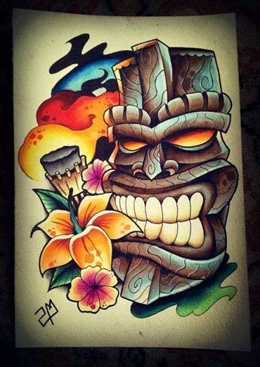 de karl tiki tattoo hawaiian tattoo tiki art