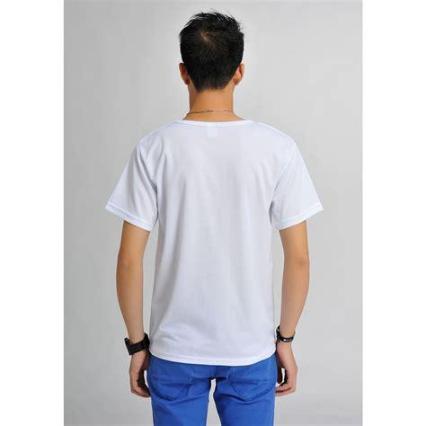 baju olah raga baju olahraga mesh pria o neck size xl 85301 t shirt