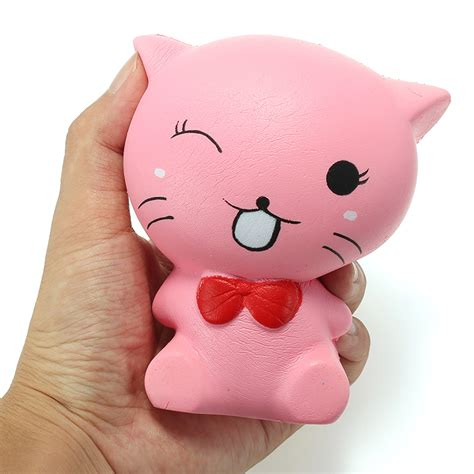 Soft And Slowrise Squishy Bathing Animal By squishy cat kitten 12cm soft rising animals collection gift decor alex nld